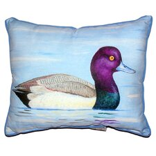 Lesser Scaup Indoor/Outdoor Lumbar Pillow