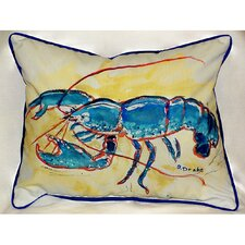 Coastal Lobster Indoor/Outdoor Lumbar Pillow