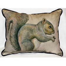 Lodge Squirrel Indoor/Outdoor Lumbar Pillow