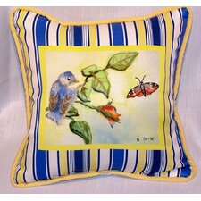 2017 Sale Garden Baby Bird Indoor/Outdoor Throw Pillow