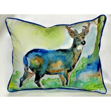 Savings Lodge Deer Indoor/Outdoor Lumbar Pillow
