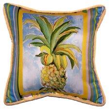 Garden Pineapple Indoor/Outdoor Throw Pillow