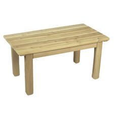 Cedar English Garden Table