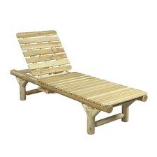 Cedar Chaise Lounge