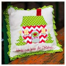 Hearts Come Home For Christmas Pillow