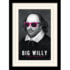 Big Willy - William Shakespeare Framed Graphic Art