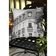 A Travers Paris II Indoor / Outdoor Throw Pillow