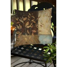 Autumn Texture 1 Indoor/Outdoor Throw Pillow