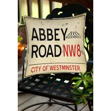 Abbey Road Indoor/Outdoor Throw Pillow