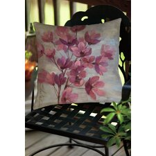 April Blooms 2 Indoor/Outdoor Throw Pillow
