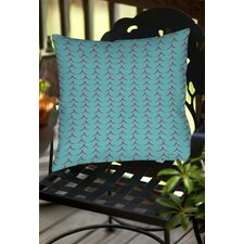 Banias Teepee Indoor/Outdoor Throw Pillow