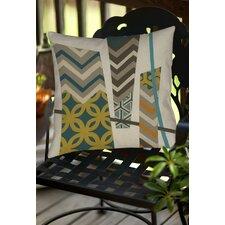 Abstract Scrapbook 1 Indoor/Outdoor Throw Pillow