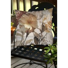 Read Reviews Blooming Days Indoor/Outdoor Throw Pillow