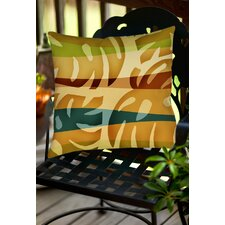 Tropical Leaf 1 Indoor/Outdoor Throw Pillow