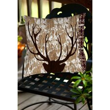 Wilderness Deer Indoor/Outdoor Throw Pillow
