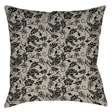 Sultry Blues Indoor/Outdoor Throw Pillow