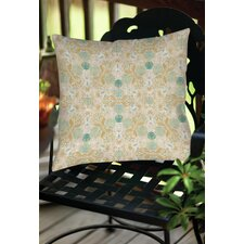 Tea House Patterns 12 Indoor/Outdoor Throw Pillow