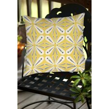 #1 Citron and Slate 1 Indoor/Outdoor Throw Pillow