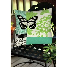 Butterfly Journey 2 Indoor/Outdoor Throw Pillow