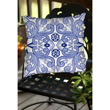 Chinoiserie Swatch 4 Indoor/Outdoor Throw Pillow