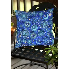 Celestial Medallions Indoor/Outdoor Throw Pillow