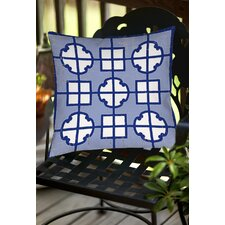 Chinoiserie Swatch 2 Indoor/Outdoor Throw Pillow