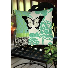 Butterfly Journey 1 Indoor/Outdoor Throw Pillow