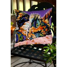 Calico Dreams Indoor/Outdoor Throw Pillow