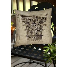 Column II Indoor/Outdoor Throw Pillow