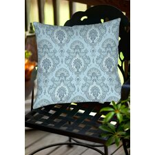 Damask Pattern Indoor/Outdoor Throw Pillow