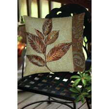 Golden Leaf 1 Indoor/Outdoor Throw Pillow