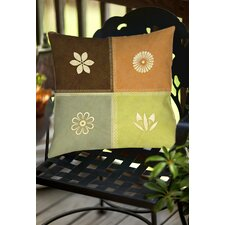 Graphic Garden Sage Indoor/Outdoor Throw Pillow