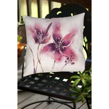 Garden Tour View Indoor/Outdoor Throw Pillow