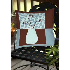 Minimalist Flowers 3 Indoor/Outdoor Throw Pillow