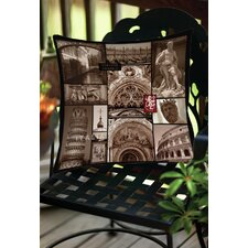 Italy Indoor/Outdoor Throw Pillow