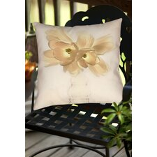 Lovely Tulip Indoor/Outdoor Throw Pillow
