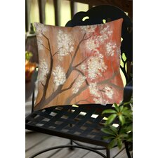 Mandarin Mist Indoor/Outdoor Throw Pillow