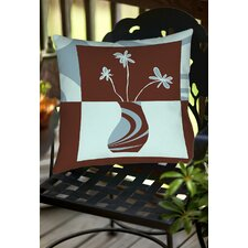 Minimalist Flowers 4 Indoor/Outdoor Throw Pillow