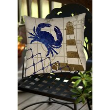 Lighthouse Indoor/Outdoor Throw Pillow