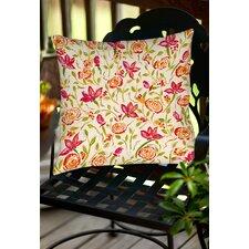 Julia's Fancy Indoor/Outdoor Throw Pillow