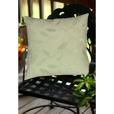 Leaves Narrow Indoor/Outdoor Throw Pillow