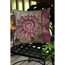 Shore Lines 2 Indoor/Outdoor Throw Pillow