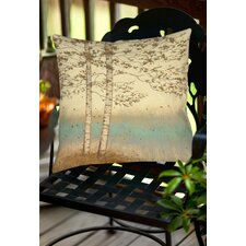 Golden Birch 2 Indoor/Outdoor Throw Pillow