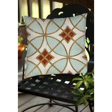 Garden Tile 1 Indoor/Outdoor Throw Pillow