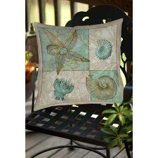 Sea Life 1 Indoor/Outdoor Throw Pillow