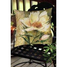 Sketchbook Floral Indoor/Outdoor Throw Pillow