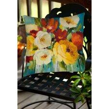 Flower Power 1 Indoor/Outdoor Throw Pillow