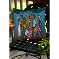 Family Tree Indoor/Outdoor Throw Pillow