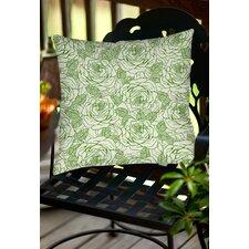 Rose Tonic Indoor/Outdoor Throw Pillow