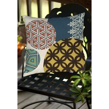 Paper Lanterns 1 Indoor/Outdoor Throw Pillow